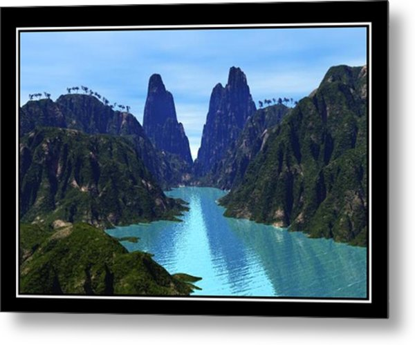 What River Metal Print by William  Ballester