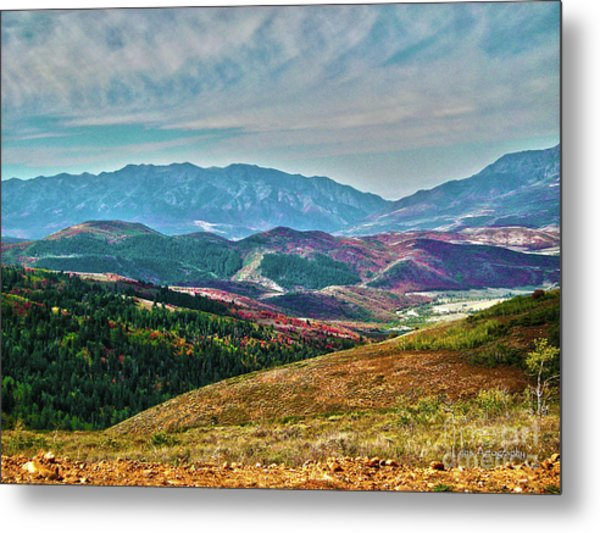 Wheeler Peak Metal Print
