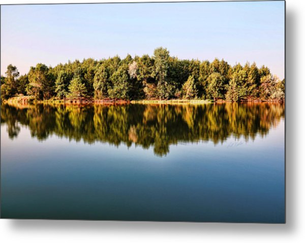 When Nature Reflects Metal Print