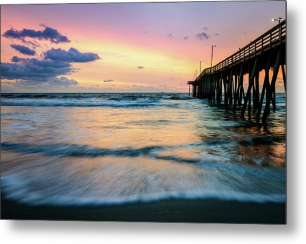 When The Tides Return Metal Print