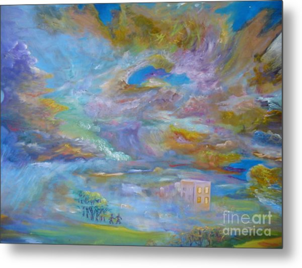 When The Winds Of Changes Shift Metal Print