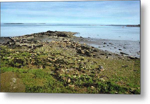 'where Ocean Meets Sky' Metal Print