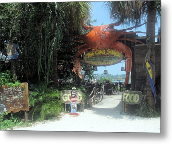 Where The Elite Eat In Their Bare Feet Metal Print by Juliana  Blessington