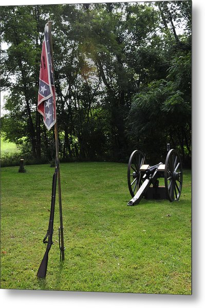 Where The Rebs Camp Metal Print