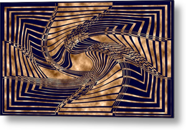 Where Too 1 Metal Print by Evelyn Patrick