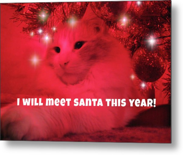 Where's Santa? Metal Print by JAMART Photography