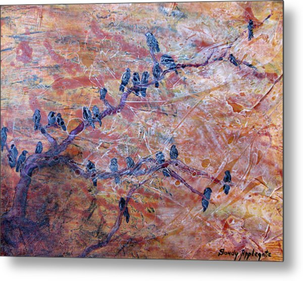 While I Nodded Metal Print by Sandy Applegate