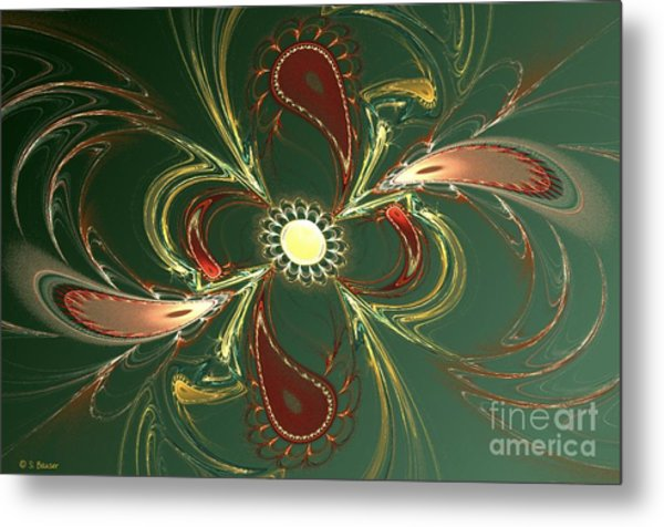 Whimsy Metal Print by Sandra Bauser Digital Art