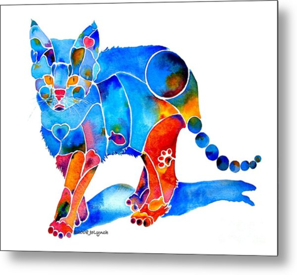 Whimzical Katie Kitten Metal Print