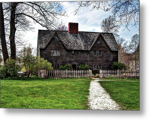 The John Whipple House In Ipswich Metal Print