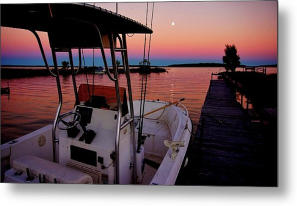 Whiskey Bay Metal Print