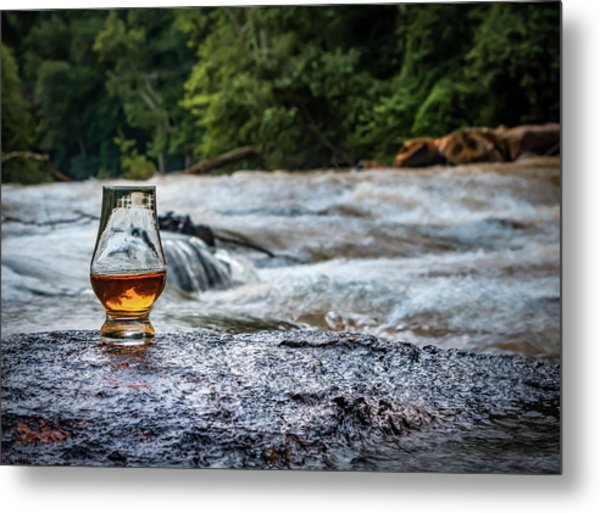 Whisky River Metal Print