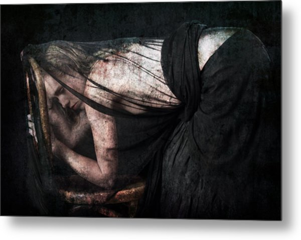 Whispers And Tears Metal Print