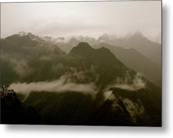 Whispers In The Andes Mountains Metal Print