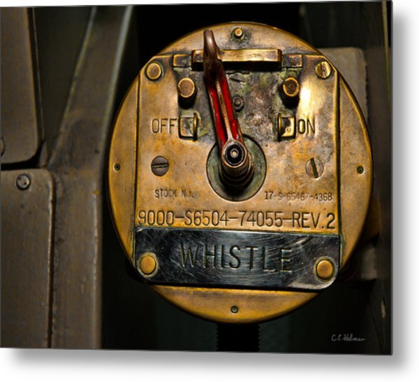 Whistle Switch Metal Print