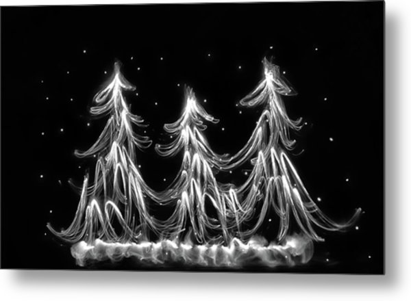 White Christmas Metal Print