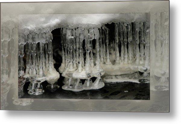White Grotto. Metal Print by Doug Bratten