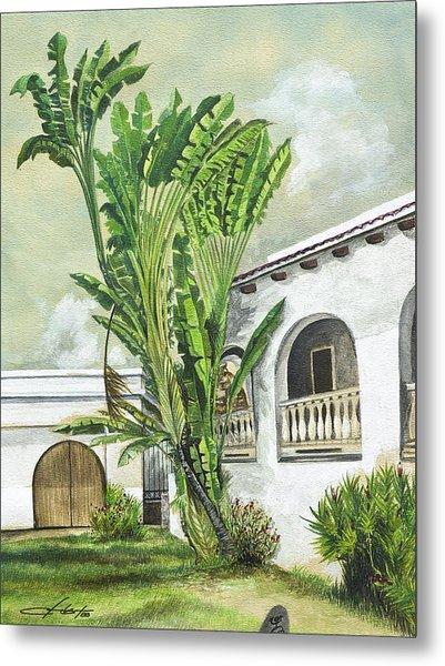 White House San Juan Metal Print by George Bloise