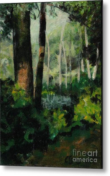 White Mountain Woods Metal Print