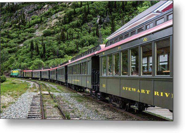 White Pass And Yukon Railway Metal Print