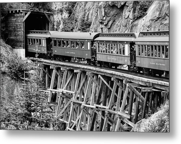 White Pass Railway Metal Print