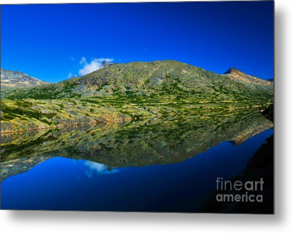 White Pass Reflections Metal Print by Scott and Amanda Anderson