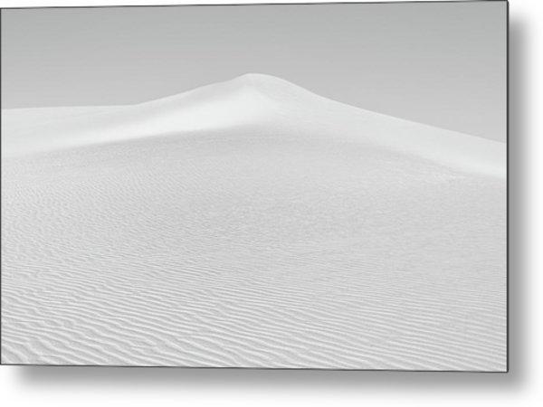 White Sand Metal Print