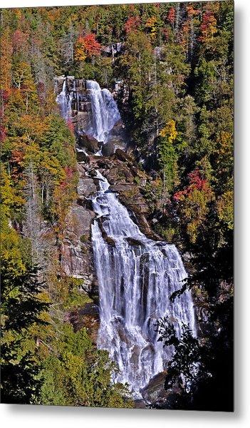 White Water Falls Metal Print