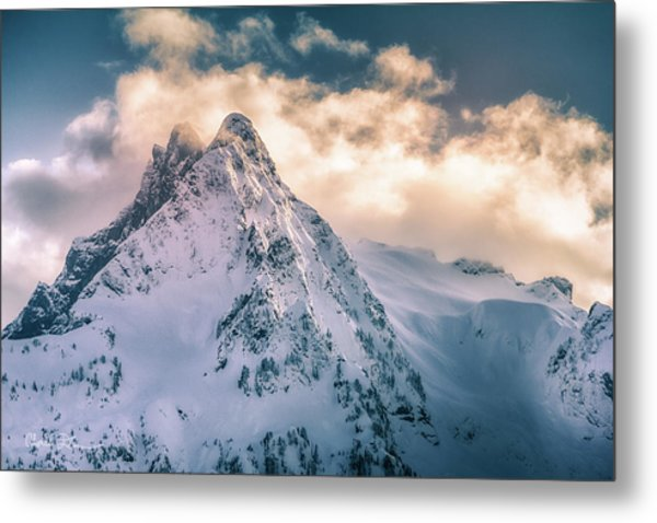 Whitehorse Clouds Metal Print