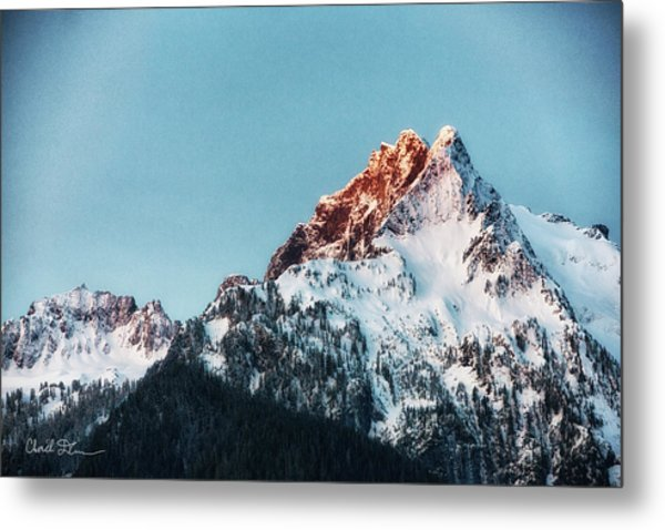 Whitehorse Sunrise Metal Print