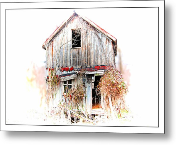 Whiteout In Opequon Metal Print