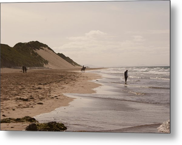 Whiterocks Beach Metal Print