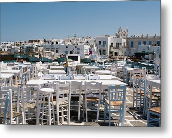 Whitewashed Naoussa Metal Print