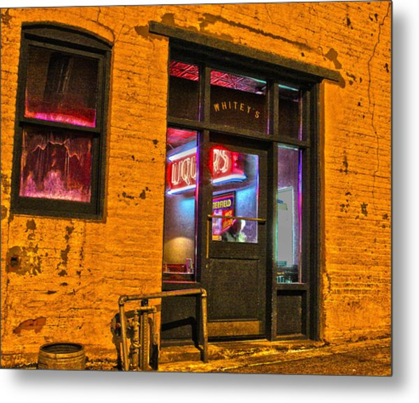 Whitey's Bar And Grill Metal Print