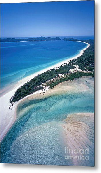 Metal Print featuring the photograph Whitsunday Islands by Juergen Held