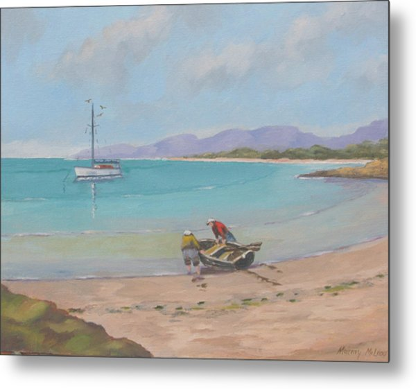 Whitsunday Sailors Metal Print
