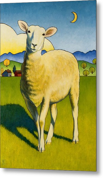 Who Are Ewe Metal Print
