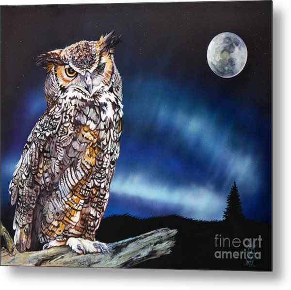 Who Doesn't Love The Night Metal Print