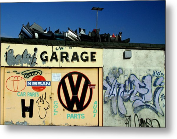 Who Spares Anymore Metal Print by Jez C Self