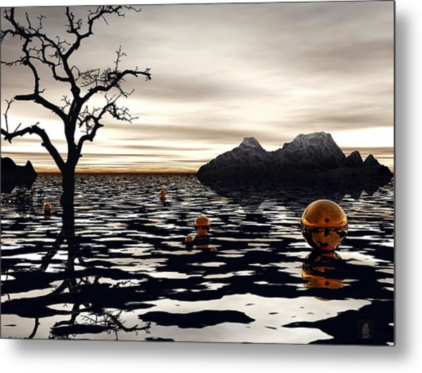 Wicked Game Metal Print by Julie King