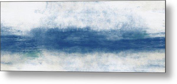 Wide Open Ocean- Art By Linda Woods Metal Print