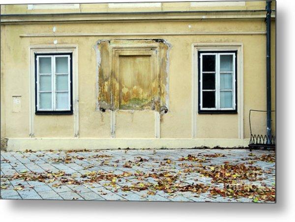 Wiener Wohnhaus Metal Print