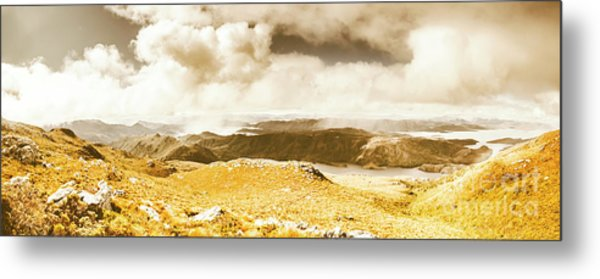 Wild Country Lookout Metal Print