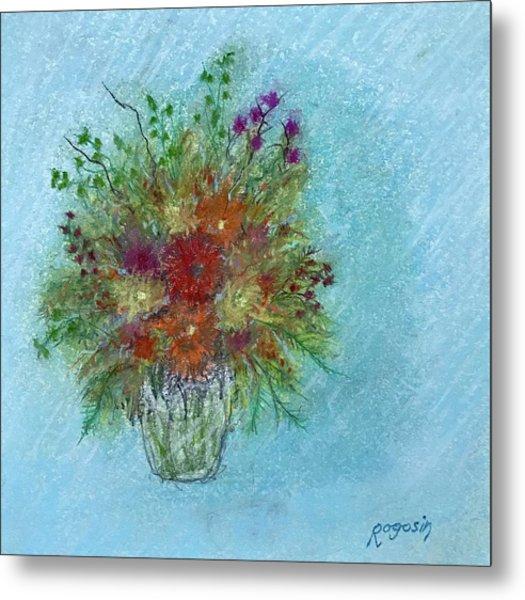 Wild Flowers Metal Print by Harvey Rogosin