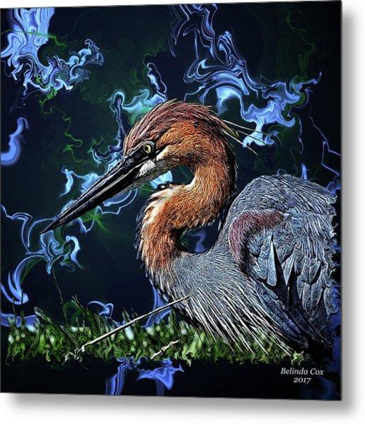 Wild Goliath Herona Metal Print