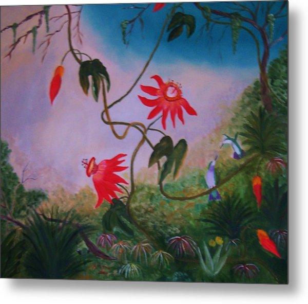 Wild Orchids Metal Print by Alanna Hug-McAnnally
