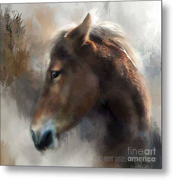 Wild Pony Metal Print