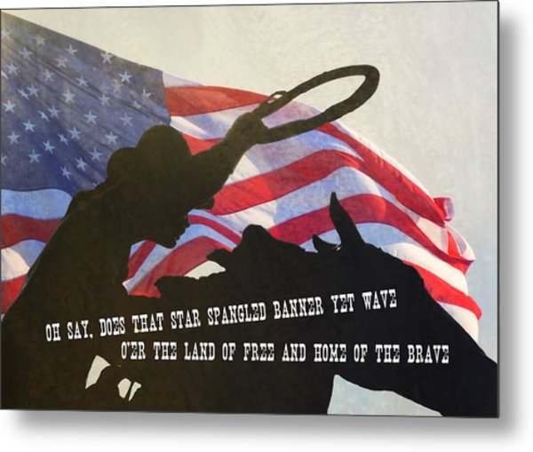 Wild West Quote Metal Print by JAMART Photography