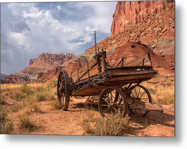 Metal Print featuring the photograph Wild Wild West by Darlene Bushue