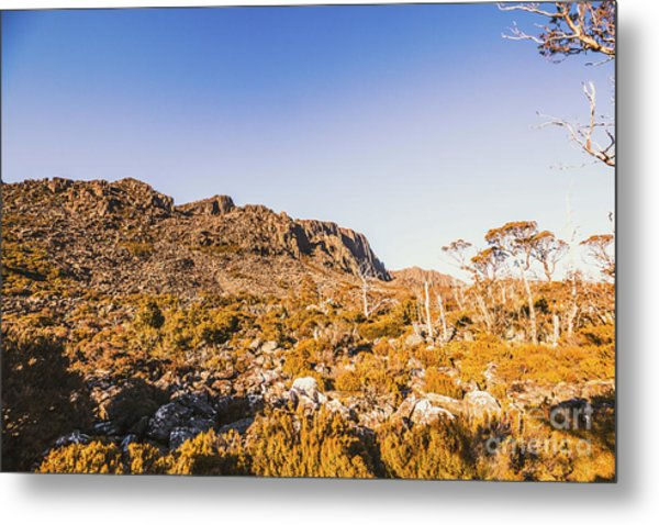 Wild Wilderness Of Stone Geology Metal Print